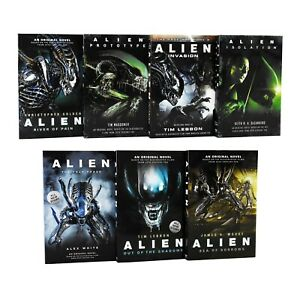 Alien Trilogy Series 7 Books Young Adult Collection Paperback Gift Set Pack