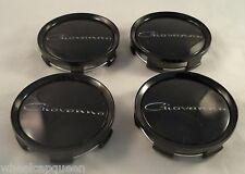 Giovanna Wheels Gloss Black Custom Wheel Center Cap Caps Set 4 # 998K75 /S709-29