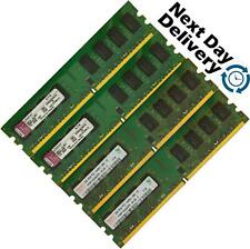 Memory Ram 4 Desktop PC DDR2 PC2 6400 800MHz 240 DIMM Non ECC Unbuffered 2x Lot