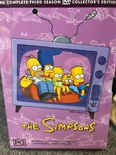 THE SIMPSONS ~ SEASON 3 DVD COLLECTORS EDITION ~ GREAT GIFT IDEA