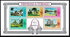 Trinidad & Tobago - Hotelbauten Block 22 postfrisch 1978 Mi. 362-366