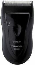 Panasonic Single Blade Travel Clean Shaver Battery Operated Men Wet Dry Razor .