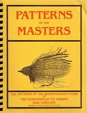 PATTERNS OF THE MASTERS Demonstration Tyers Federation Fly Fishing 1990 Flies