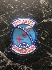 "Vietnam Cold War Era Patch 2.5"" 71st Air Refueling Squadron USAF Rare Scarce SM"