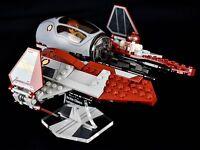 Star Wars Lego 75135 Obi Wan Jedi Interceptor - custom display stand only
