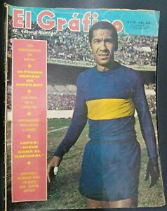 El Grafico Magazine n° 2656 Julio Melendez Soccer Player On Cover 1970