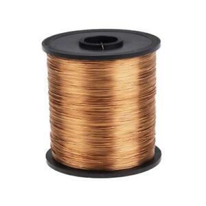 1 x RS PRO Single Core Reel 0.5mm Diameter ENAMELED Copper Wire, 286m Long