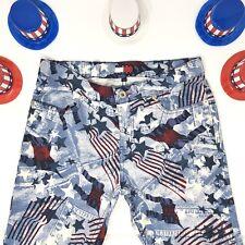 Vtg Tommy Jeans Patriotic Stars Stripes 4th Of July Americana Grls Sz 7
