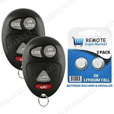 Replacement for Buick Century Regal Rendezvous Remote Car Keyless Key Fob Pair