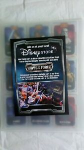 Complete 36 Card Set Disney Store Star Wars Promo Cards - NM/Mint