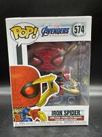 Funko Pop Avengers Endgame : Iron Spider #574 Vinyl Figure IN STOCK