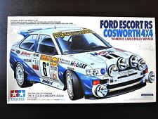 Rare & Vintage ! TAMIYA 1/24 FORD ESCORT RS Cosworth 4×4 '94 Monte Carlo Rally !