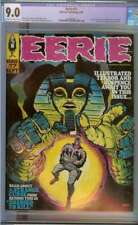 EERIE #17 CGC 9.0 CR/OW PAGES