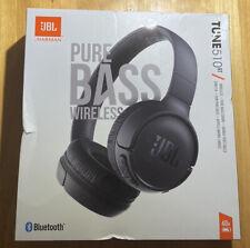 JBL TUNE 510BT Bluetooth Wireless On-Ear Headphones with Purebass Sound - Black