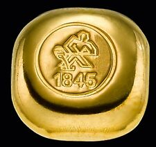Knuffel Gegossener Goldbarren 999.9 Feingold 10g Heimerle + Meule 24 Karat LBMA