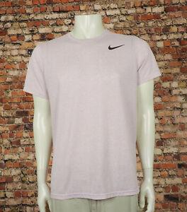 Nike Breathe Dri-Fit Pink Athletic Training Workout Shirt Mens Large