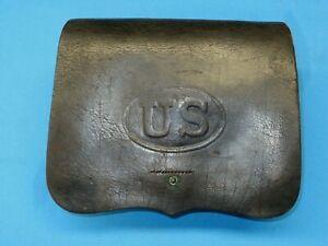 U.S. Civil War M1864 Pattern Cartridge Box – Inspector Marked