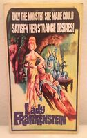 UNIVERSAL MONSTERS-LADY FRANKENSTEIN-JOSEPH COTTEN-SARAHBAY- VHS UNCUT EDITION