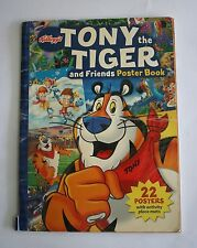 Kellogg's Tony the Tiger and Friends Poster Book - 22 Posters with Activity Mats