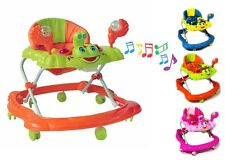 Baby Walker Push Bouncer Top Quality Activity Musical Melody Toy Along Ride On