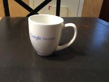 Vintage Google Partners Large Coffee Mugs Rare Hard to Find