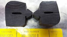 Genuine Ford XD-XG Falcon bonnet bumper rests sold as pair (2 peices)