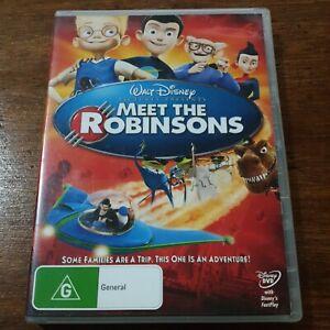 Meet the Robinsons DVD R4 Like New! FREE POST