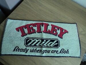 Vintage / Retro - Tetley Mild Bar Towel