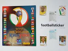 WM 2002, 20 Sticker stickers Panini World Cup 02 Korea Japan football