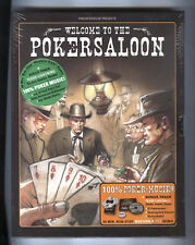 POKERSALOON CD und 52 Pokerkarten Spielregeln Dealer Button POKERSPIEL ovp