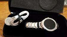 Emporio Armani Men's Smartwatch Stainless Steel Plated Smart Watch Premium