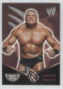 2002 Fleer WWE Royal Rumble AKA Brock Lesnar #77 Rookie