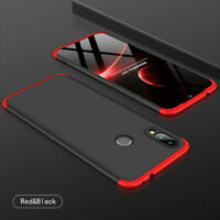 For Xiaomi Redmi Note 7 360°Protection Case Slim Shocproof Cover +Tempered Glass