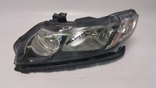 2006-2011 HONDA CIVIC SEDAN HEADLIGHT HEADLAMP DRIVER LEFT HALOGEN 06-11 OEM