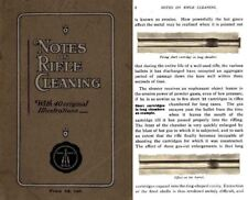 Bsa 1912- Notes on Rifle Cleanng