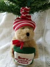 Boyds Bears Beary Christmas Friend Ornament New without tag 562751