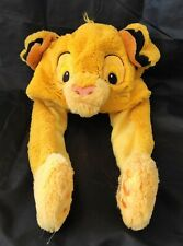 Bonnet simba le roi lion disney the lion king cap plush soft toy