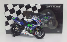 MINICHAMPS JORGE LORENZO 1/12 MODEL YAMAHA YZR M1 MOVISTAR MOTOGP 2014 NEW