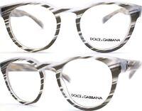Dolce&Gabbana Brillenfassung DG3051 3050 49mm  gestreift grau transparent 170 42