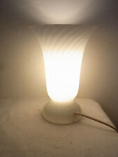 Mid Century 60's Murano Glass Style Desk Lamp Bedside Lamp #<