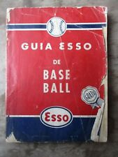 1944 Esso Oil of Cuba Baseball Guide U.S. Major Leagues & Cuban Pro & Amateur