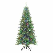 Gerson & Gerson Sterling 7' Led Color Changing Ozark Pine Christmas Tree