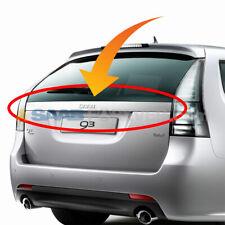 New Saab 9 3 06 12 Griffin Wagon Rear License Plate Trunk Trim With Badge Emblem Fits Saab