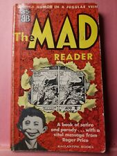 MAD Magazine Paperback Book: #1 The MAD Reader Ballantine 1961 14th VG