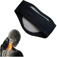 Self Heating Neck Heat Therapy Support Belt Tourmaline Magnetic Wrap Brace Pain-