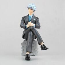 Anime Gintama Sakata Gintoki Suit Ver. PVC Figure Toy New In Box