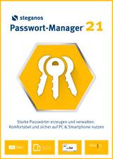 Steganos Passwort Manager 21 ( 5 PC)  + Gratis dazu DriverMax 1 Jahr - Download