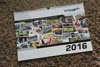 Matthias Heyer Kenneth Rennsport Kalender 2016 Motorsport calendar calendrier