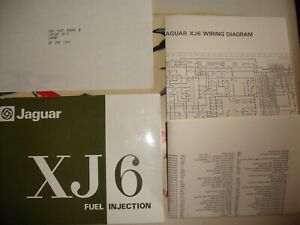 GENUINE JAGUAR OWNERS HANDBOOK 1978 JAGUAR XJ6 FUEL INJECTION WIRING DIAGRAM