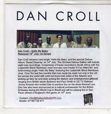 (FJ675) Dan Croll, Hello My Baby ft Ladysmith Black Mambazo - DJ CD